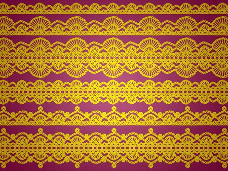 needle laces: Elegant antique laces design abstract background