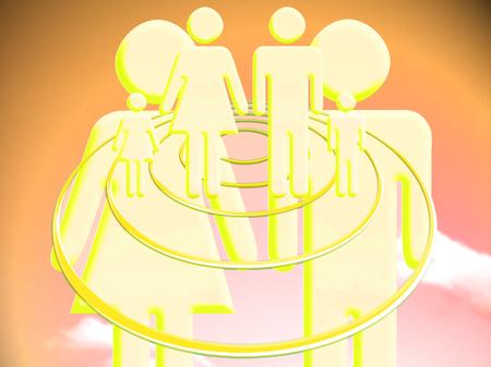 vibration: Couple vibration to project a family future