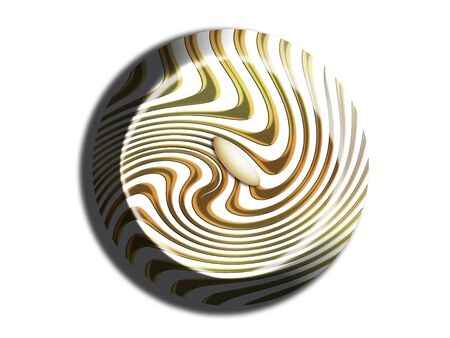 white chocolate: White chocolate with gold stripes