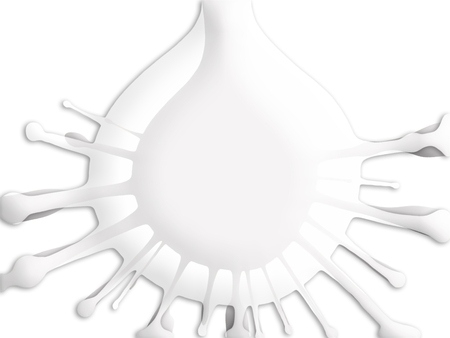 pale cream: White bright splash drops background