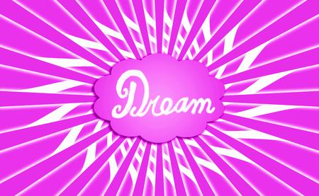 idealized: Pink dream cloud