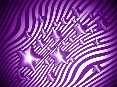 starry: Purple starry striped background