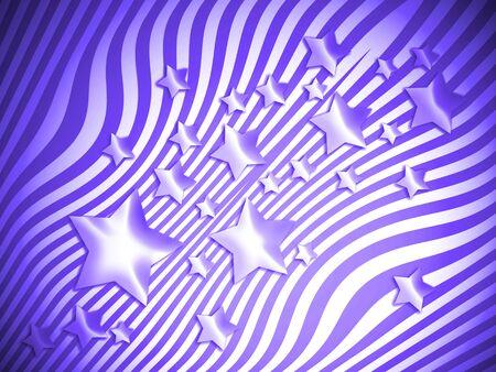 transmutation: Blue stars and lines backdrop