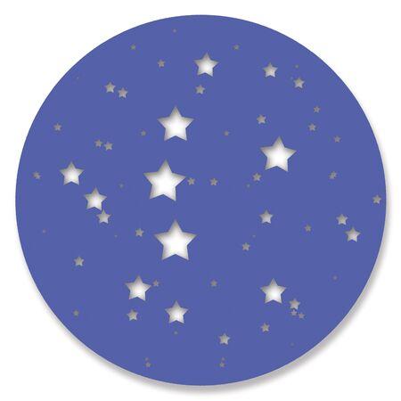 starry night: Starry night circle