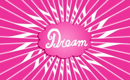idealized: Pink dream radial cloud