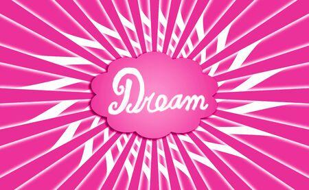 simetric: Pink dream radial cloud
