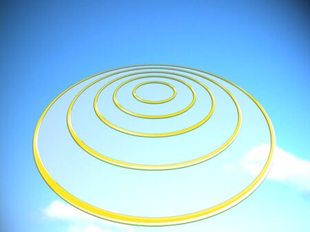 targets: Targets base circles abstract illustration background