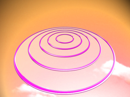 abducted: Target circles for marketing background