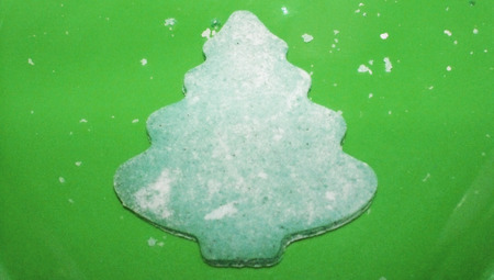 gingerbread cookie: Green christmas gingerbread tree cookie