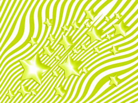 Stars and thin stripes light green abstract background