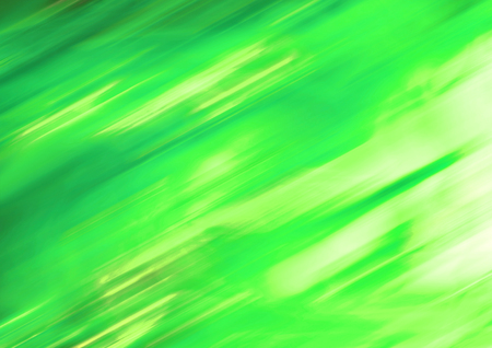 Green lights diagonal blurs abstract background