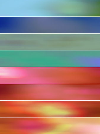 sequences: Pink and blue blurs stripes abstract backgrounds Stock Photo