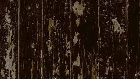 oldish: Dark fence old wood background Stock Photo