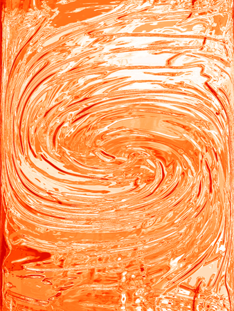 Orange paint textured background