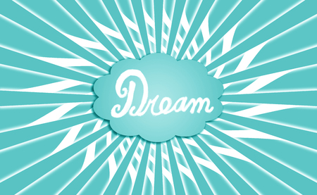 idealized: Dream blue cloud background Stock Photo