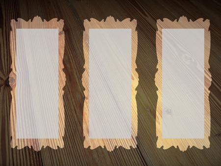 Rectangular empty frames backgrounds