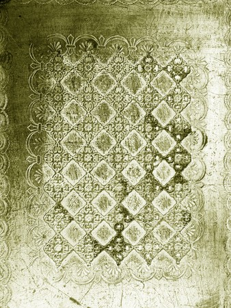 antiquity: Silver vintage elegant wood carve abstract background texture