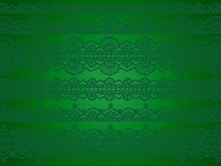 antiquity: Green delicacy of xmas abstract background Stock Photo