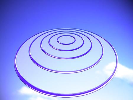 Target circles background