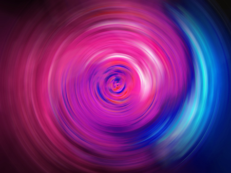 Light tunnel abstract background of pink and blue colors
