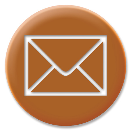 cupper: Mail envelope icon on cupper circle