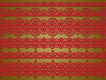Elegant laces xmas background Archivio Fotografico