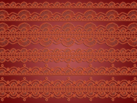 Elegant laces abstract background Stock Photo