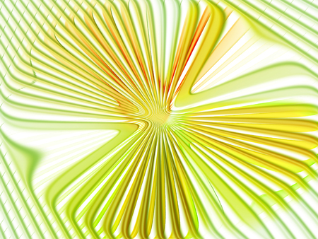 Yellowish green lines and angles background