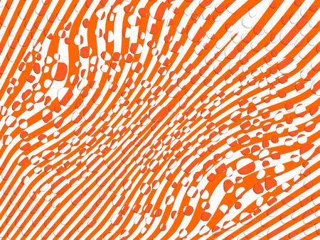 Optical illusion of circles and lines background Stock Photo - 99365373