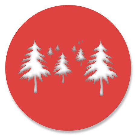 Nature alarm foest conceptual image