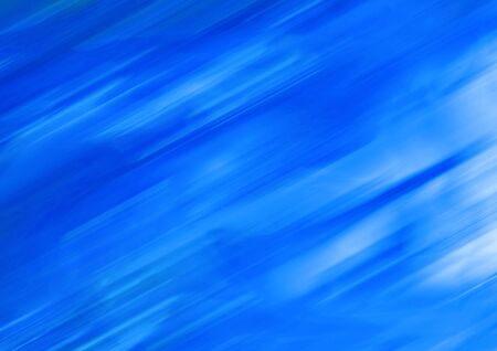 Blue diagonal lines blurs abstract background