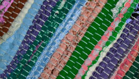 Colorful carpet textured abstract background
