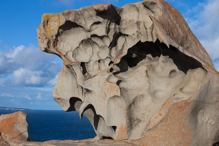 Remarkable Rocks, in the southern part of the Flinders Chase National Park.