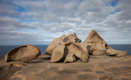 Remarkable Rocks, in the southern part of the Flinders Chase National Park