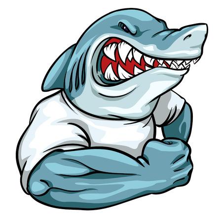 Animal mascot, team label design.
