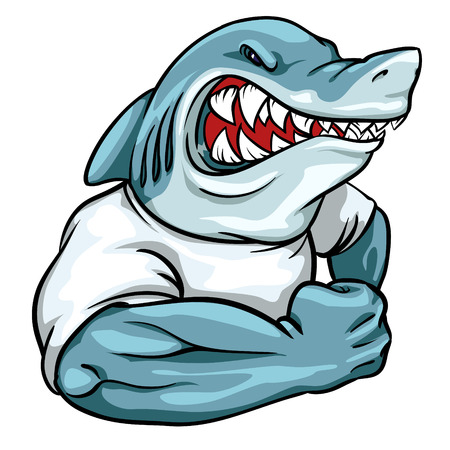 animal mascot: Animal mascot, team label design.