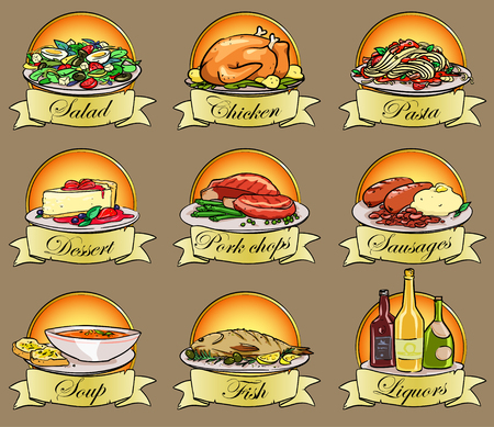 backing: Food labels
