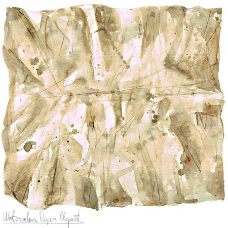 wrinkled paper: Watercolor Paper Clipart - Wrapping Paper