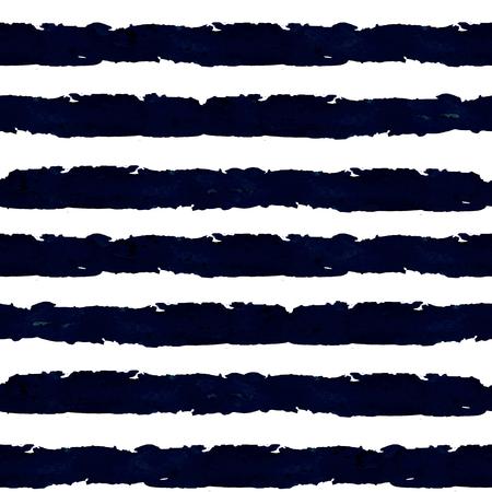 ストライプ。水彩のシームレスなパターン。