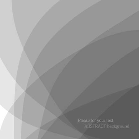 Abstract gray background. Vector illustration.