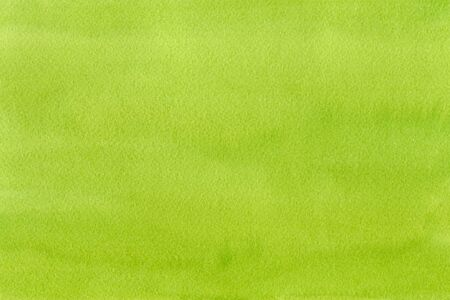 Hand drawn green watercolor abstract paint texture. Raster splash background.