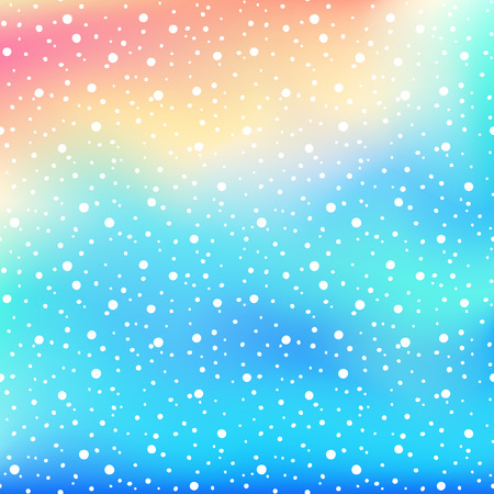 Winter Holiday shine snow background . Vector Christmas blurred texture for greeting card.