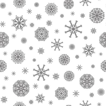 xmax: Winter Holiday vector background with snow. Illustration