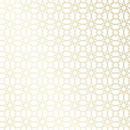 gold textured background: Ramadan Kareem gold greeting card, banner, seamless pattern. Vector arabic ornate geometric shining background in islamic style