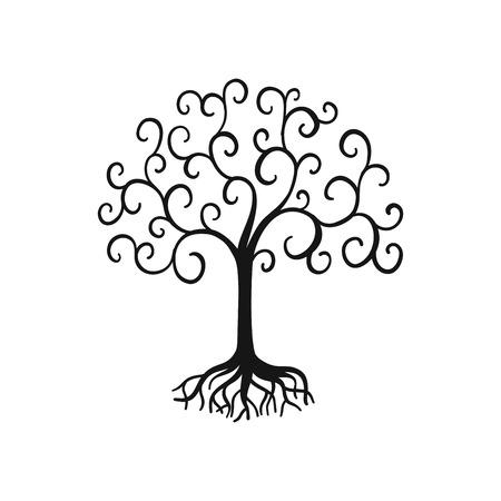 Vector árbol de la vida Foto de archivo - 80233061