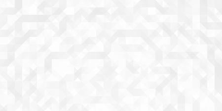 Vector geometrisch abstract naadloos patroon, technologieachtergrond