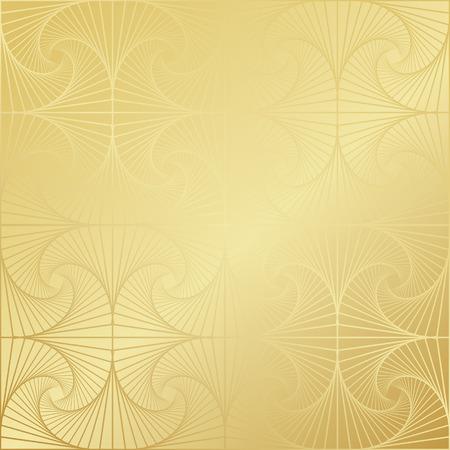 islamic pattern: Gold gradient greeting seamless pattern. Vector arabic ornate geometric shining background in islamic style Illustration