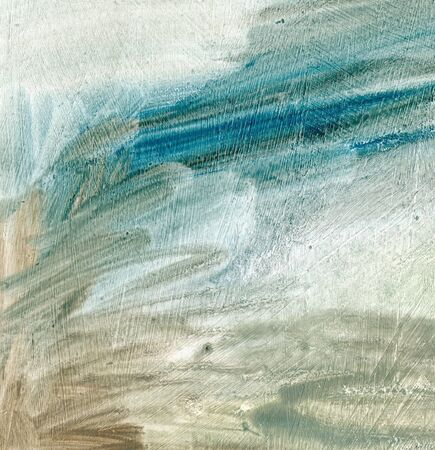 Abstract art painting texture. Grey, blue acrylic, oil background. Hand drawn artwork Reklamní fotografie