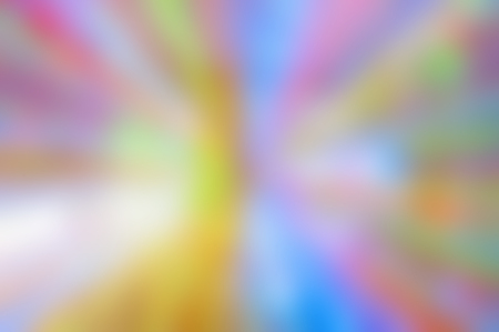 glowing lines of different colors diverge from the center to the edges, abstraction, blurred background
