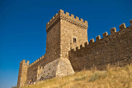 tower of medieval castle in summer Stock Photo - 6564409